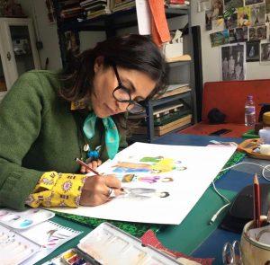 Afsoon, Iranian artists, Middle Eastern art, female artists, contemporary art, London art, women artists, East meets West, art journal, art magazine, arts and culture, art news
