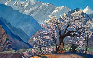 Nicholas Roerich, Russian painters, Himalayas, landscape paintings, India, Roerich Pact, Russian scholars, Nicholas Roerich Museum, Naggar