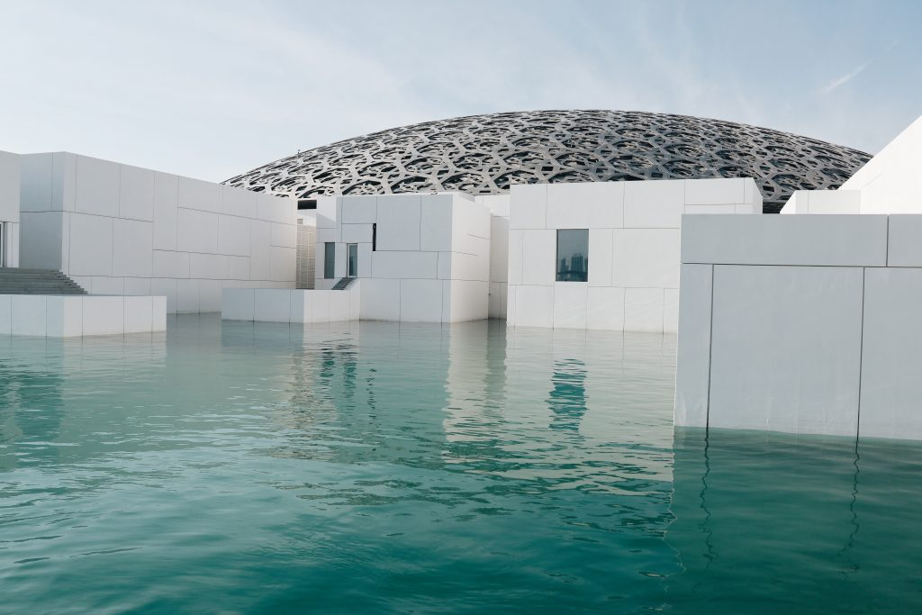 Abu Dhabi, Middle Eastern art, Sheikh Zayed Grand Mosque, arabic art, city guides, Abu Dhabi city guide, travel magazine, art guides, Louvre Abu Dhabi, Abu Dhabi Art, travel guides, Eastern art, J'aipur Journal, Rupi Sood, editor picks, islamic art, arabesque patterns, Jean Nouvel, Abu Dhabi culture, Abu Dhabi architecture