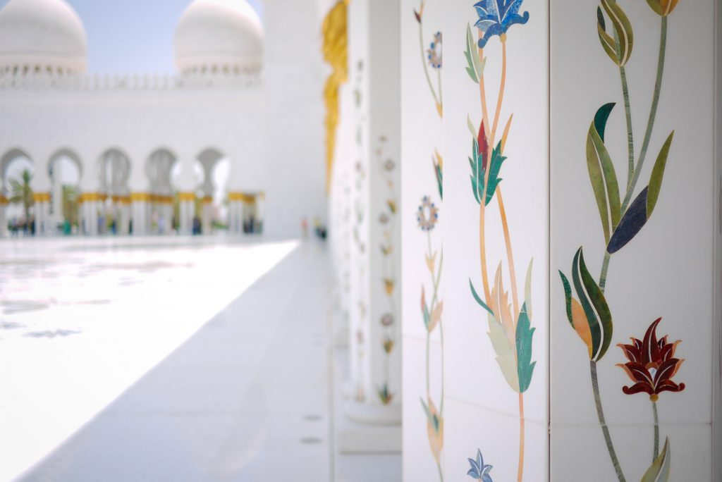 Abu Dhabi, Middle Eastern art, Sheikh Zayed Grand Mosque, arabic art, city guides, Abu Dhabi city guide, travel magazine, art guides, Louvre Abu Dhabi, Abu Dhabi Art, travel guides, Eastern art, J'aipur Journal, Rupi Sood, editor picks,