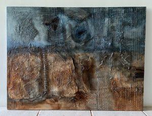 oil painting, Indian artists, Shalu Juneja, online art exhibit, world art, women artists
